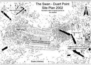 Swan site plan